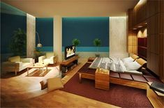 Modern Master Bedrooms Designed By Semsa Bilge ~ Inspiring Bedrooms Design
