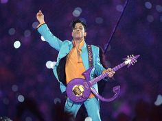 Prince, seen here at the Super Bowl in Miami in 2007,