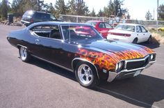 The Buick Skylark to me is the quintessential Muscle Car. It has everything a Muscle Car should have.
