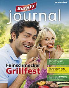 Feinschmecker Grillfest Journal, Baseball Cards, Crickets, Food And Drinks