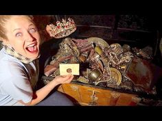 WE FOUND ANOTHER REAL TREASURE CHEST! EVEN MORE EPIC TREASURE HUNT! - YouTube That Youtube Family, Disney Fine Jewelry, False Bottom, Moose Toys, Original Music, Niece And Nephew, Theme Song, Treasure Chest