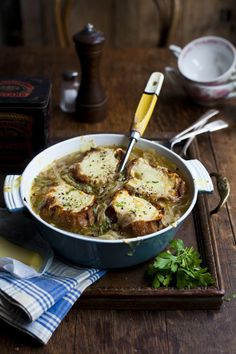 French Onion Soup | DonalSkehan.com, A French classic, perfect on a winter's…
