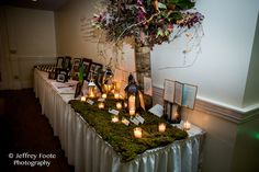 Esperanza Mansion Fall Wedding Flowers by Stacy K Floral and captured by Jeffrey Foote Photography. {Fall Wedding}
