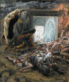 Tissot, le donne al sepolcro (int.)