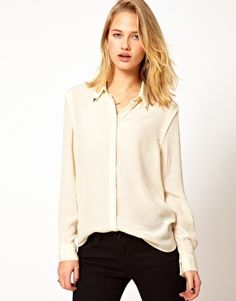 Selected Shirt With Collar Tips