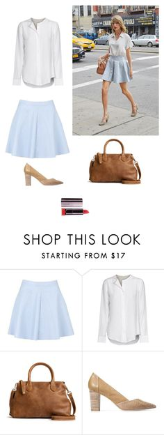 """Have the Look #3: Taylor Swift"" by olive-seidler ❤ liked on Polyvore featuring Equipment and COVERGIRL"