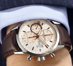 Steel Men's Freelancer Chronograph by Raymond Weil