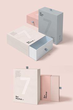 Karton+Papier-Kreativ Box Set Product Mockup How To Bonsai - Critic Design Web, Font Design, Label Design, Branding Design, Box Branding, Corporate Identity, Branding Ideas, Corporate Design, Business Branding