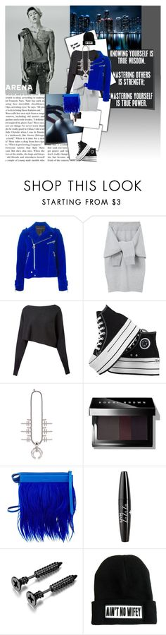 """""I'm feeling like a million boss right now"""" by fruitmachine ❤ liked on Polyvore featuring Marc by Marc Jacobs, Le Ciel Bleu, Crea Concept, Converse, Bobbi Brown Cosmetics, 3.1 Phillip Lim, NYX and Rimmel"
