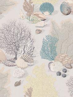 Byron Bay Celadon wallpaper by Manuel Canovas