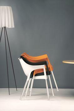 Pole armchair