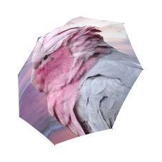 Galah Cockatoo Foldable Umbrella. FREE Shipping. FREE Returns. #umbrellas #parrots