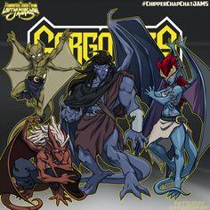 cartoon art deviantart CCC-jams reboot Gargoyles by FooRay on DeviantArt