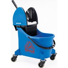 Dual Cavity Mop Bucket- clean water away from dirty $116