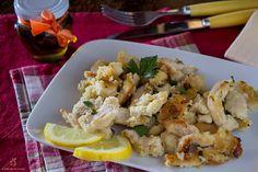 Straccetti di pollo al prezzemolo e limone