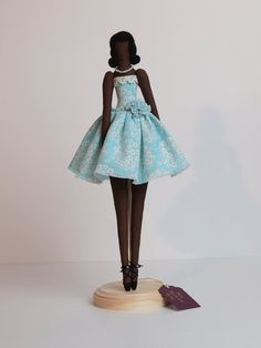 50s Fashion Girl - Tilda-style doll