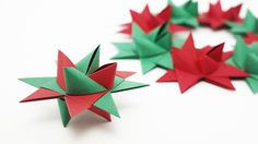 Origami Froebel Star (traditional) - Christmas