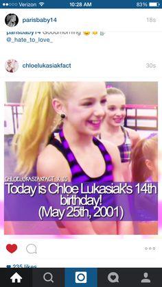 OMG just saw this on Instagram!! HAPPY BIRTHDAY CHLOE!!