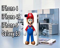 Super Mario iPhone 5 Case  , iPhone 4  , Galaxy s3 Super Mario , Galaxy S4