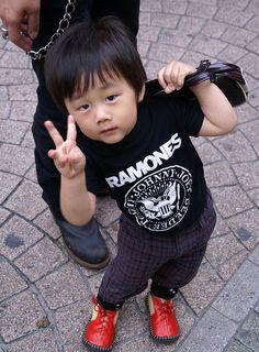 Harajuku street punk, the next generation. :-)