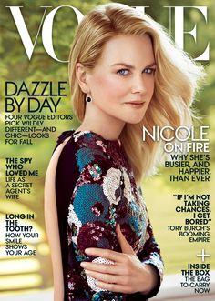 Vogue - Nicole Kidman