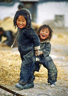 Having fun in Nepal.