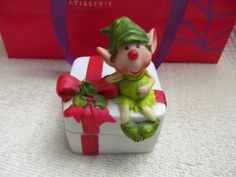 1979 Designer collections , Himself The Elf For Christmas Porcelain  Box