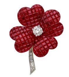 Van Cleef & Arpels - Cosmos rubies brooch