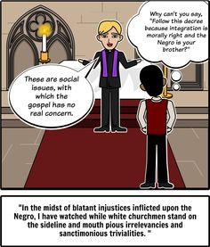 martin luther king rhetorical strategies