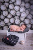 Baseball Theme Photography Backdrop or Floor Drop - Sports Photography Photoshoots -  Baseball Portrait Prop - Item 1045