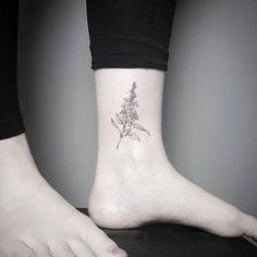 Lilac Tattoo by fraukekatze