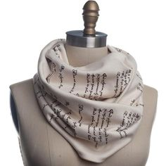 Romeo & Juliet Book Scarf - Literary Scarf - Storiarts