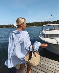 Straw Bag, Cover Up, Beach, Summer, Dresses, Fashion, Vestidos, Moda, Summer Time