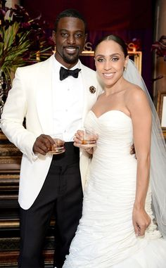 "Lance Gross Is Married! Actor Says ""I Do"" to Fiancée Rebecca Jefferson in Los Angeles  Lance Gross, Rebecca Jefferson"