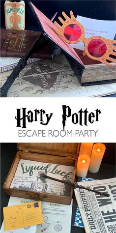 Harry Potter Motto Party, Harry Potter Halloween Party, Harry Potter Classroom, Theme Harry Potter, Harry Potter Gifts, Harry Potter Birthday, Harry Potter Crafts Diy, Harry Potter Christmas Gifts, Harry Potter Party Games