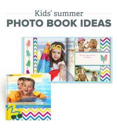 Kids' Summer Adventure Photo Book Ideas