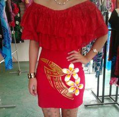 Samoan fashion Island Wear, Island Outfit, New Dress Pattern, Dress Patterns, African Print Fashion, Ethnic Fashion, Samoan Dress, Luau Dress, 1930s Fashion