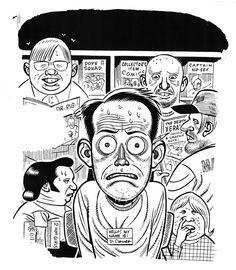 Daniel Clowes, self-portrait