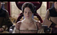 Anne Boleyn is arrested. Anne Boleyn Tudors, Wolf Hall, Damian Lewis, Tudor Fashion, Bbc Tv Series, Queen Of England, Tudor History, Many Faces, Cool Costumes