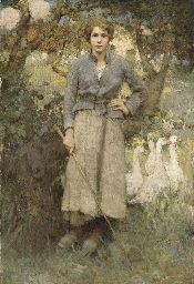 William Lee Hankey - Goose Girl