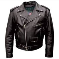 FMC biker jacket Vintage style 1950's but is new, formally seen in The Wild One movie worn by Marlin Brando. FMC Jackets & Coats