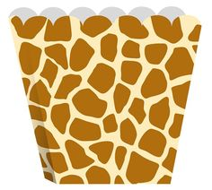 Scalloped edge giraffe treat boxes with many uses. Fill with candy and put on dispay or send home as party favors. > Size: wide x tall> Includes 8 boxes per package Giraffe Birthday Parties, Birthday Box, Party Stores, Favor Boxes, Gift Packaging, Party Supplies, Party Favors, Treats, Handmade Gifts
