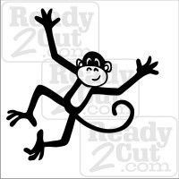 Happy Monkey vector image
