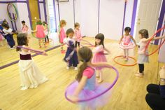 Party - dance studio. Great idea for children classes