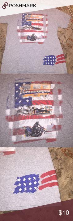 American Dragway Tshirt American Dragway Tshirt Gildan Shirts Tees - Short Sleeve