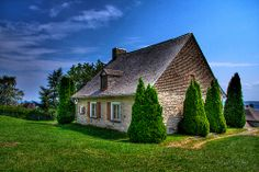 Old House Near Montmorency Falls by Pheely, via Flickr