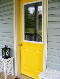 The Complete Guide to Imperfect Homemaking: How to Paint An Exterior Door