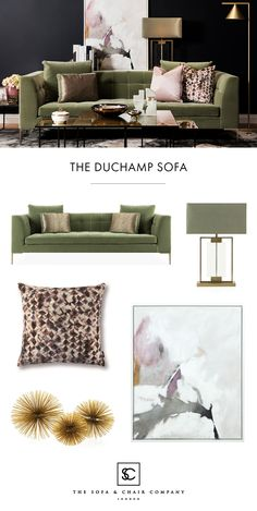 The cosy colourful luxury living room. The cosy colourful luxury living room. Kasey Shaffer ryphru The cosy colourful luxury living room. Sage Living Room, Living Room Colors, Living Room Modern, Living Room Sofa, Living Room Furniture, Living Room Decor, Living Rooms, Green Velvet Sofa, Green Sofa