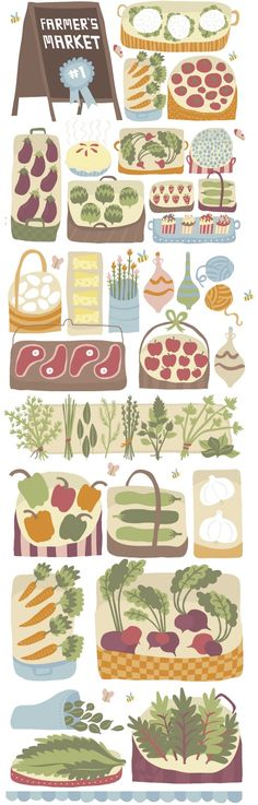 Illustration de nourriture - ILLUSTRATION (Daily)