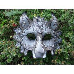 venetian masquerade masks wolf